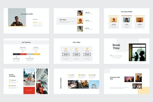 Миниатюра для Bolero - Бизнес-профиль Powerpoint