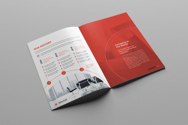 Annual Report A4 & Us Letter - product preview 6