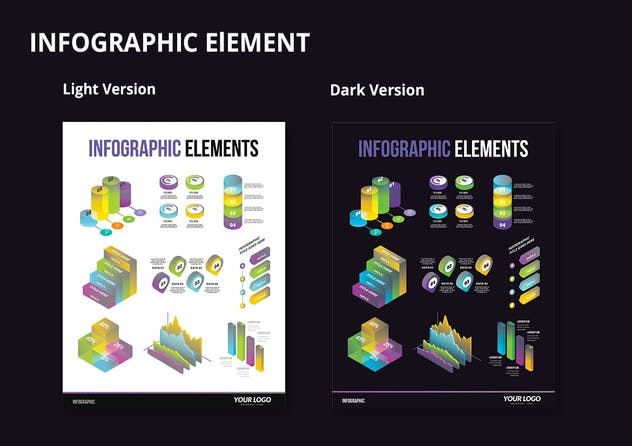 Infographic Examples for Designer V.65 - product preview 2