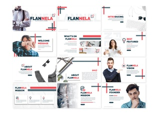 Thumbnail for Flannela - PowerPoint Template
