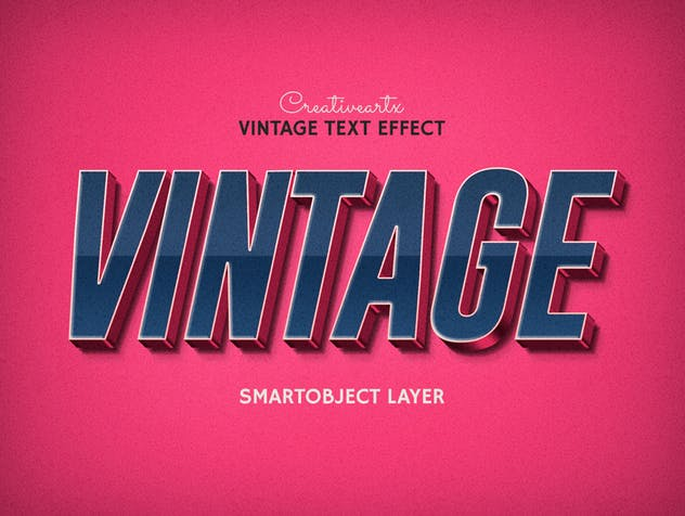 Vintage Retro Text Effects - product preview 8