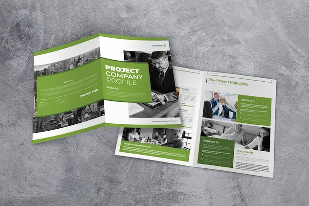 Business Marketing Company Profile - product preview 1