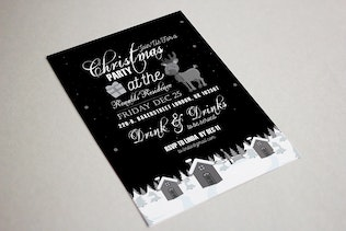 Thumbnail for Christmas Party Invitation Card