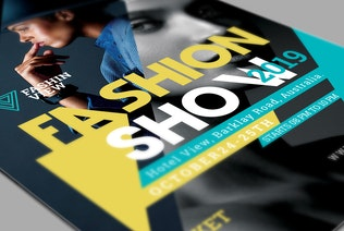 Thumbnail for Fashion Show Flyer