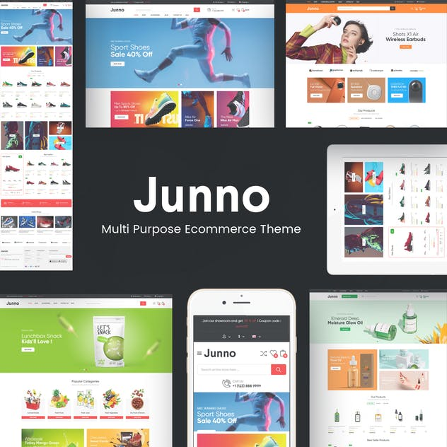 Junno - Responsive OpenCart Theme