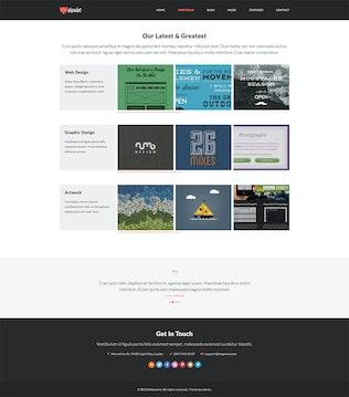 Thumbnail for Webpaint - 2 in 1 Responsive HTML5 Template