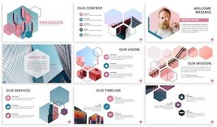 Thumbnail for Heksagon - Business Keynote Template