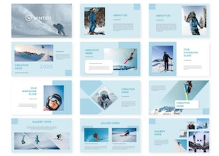 Thumbnail for Uinter - Powerpoint Template