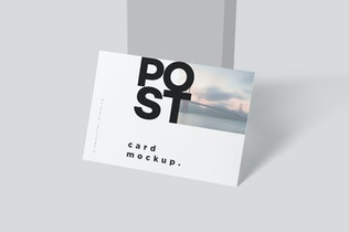 Thumbnail für 7 x 5 Einseitiges PostkartenMock-ups