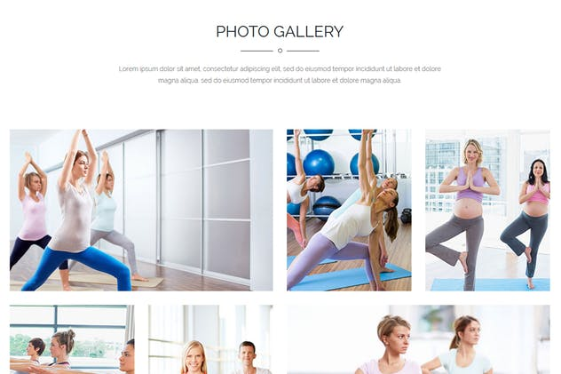 Yoga | Landing Page Muse Template - product preview 2