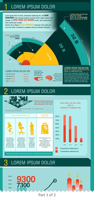 Business Marketing Infographics Template