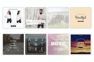 Thumbnail for Instagram Media Banner Kit