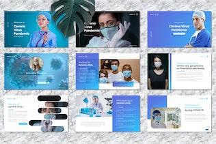Thumbnail for Corona Virus - Medical PowerPoint Template