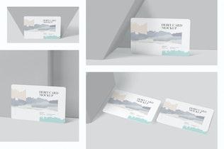 Thumbnail für Debitkarten-Mockup-Vorlagen