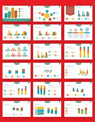 Thumbnail for Chart Infographics Powerpoint