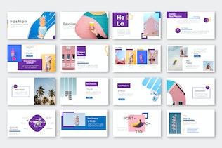 Миниатюра для Модный бизнес Powerpoint - LS