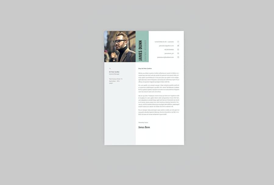 Trig CV Resume Designer - product preview 1