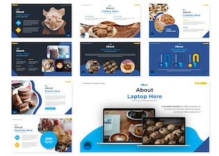 Thumbnail for Cookiest | Powerpoint Template