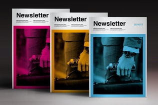 Thumbnail for Newsletter Brochure Indesign Template