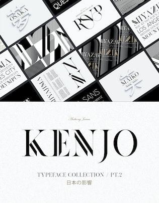 Thumbnail for KENJO FONTS | PT. II
