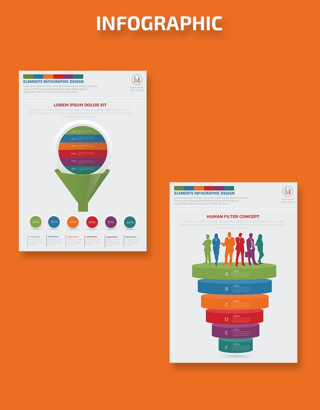 Filter Funnel Infographics Design - product preview 6