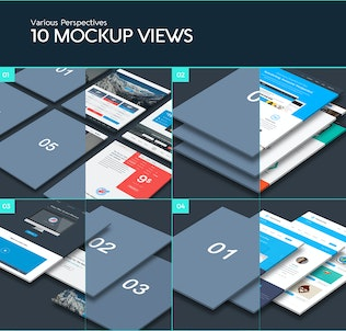 Thumbnail for The Perspective Website Mockup