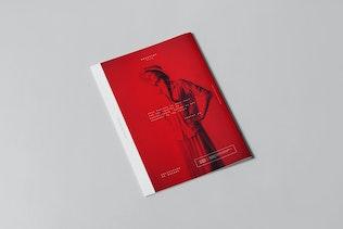 Thumbnail for A4 Brochure Mock-up 3