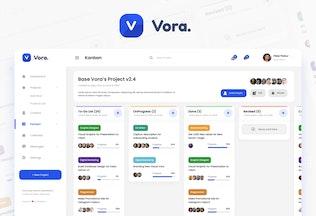 Thumbnail for Vora - Saas Admin Dashboard UI Design Template