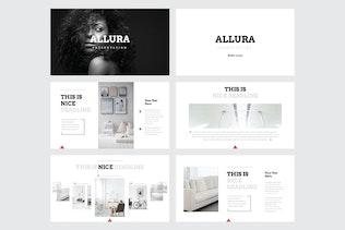 Thumbnail für ALLURA - Mehrzweck-Keynote Vorlage V55