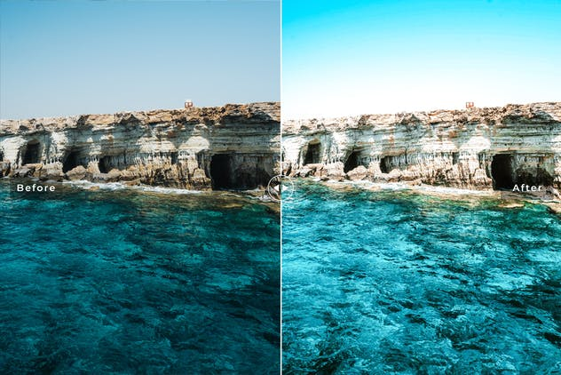 Ayia Napa Mobile & Desktop Lightroom Presets - product preview 4