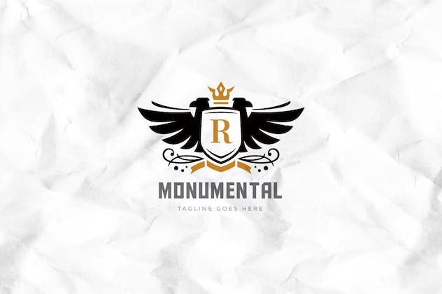 Monumental Logo Template - product preview 1