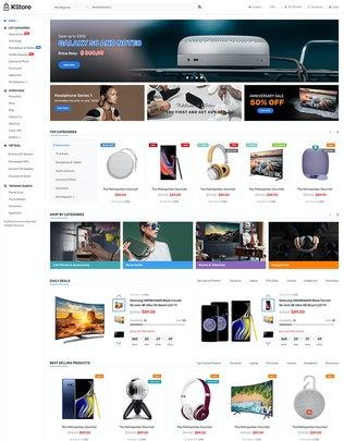 Thumbnail for KStore - Multipurpose OpenCart 3 Hi-Tech Theme