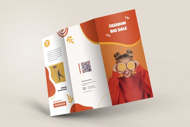 Fashion Trifold Brochure - product preview 2