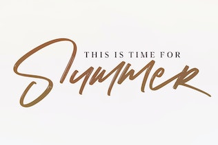 Thumbnail for Katty Lynch Brush Font - Free Serif
