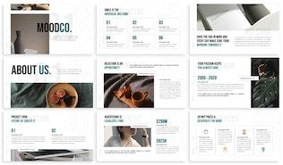 Миниатюра для Moodco - Дизайн интерьера Шаблон Keynote