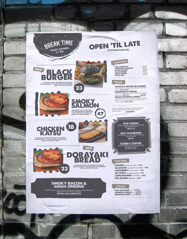 Food Menu Template - product preview 2