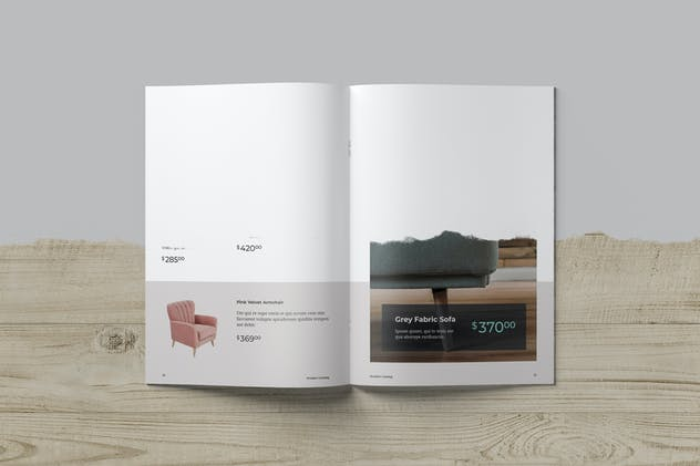 Brochure and Catalog Mockups