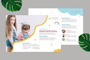 Miniature pour Carte postale Kids Fest