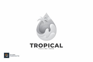 Thumbnail for Tropical - Logo Template