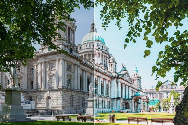 Belfast Mobile & Desktop Lightroom Presets - product preview 4