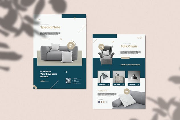 Furniture Flyer - product preview 3