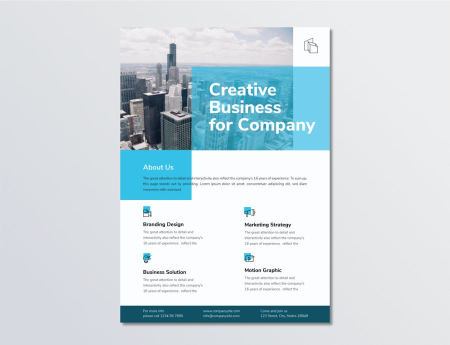 Business Flyer Template 1.3 - product preview 1