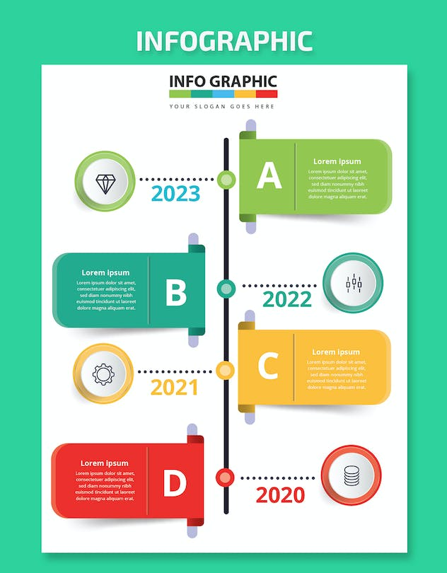 Timeline Infographics - product preview 2