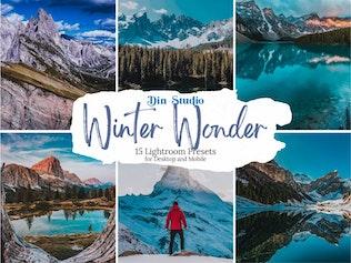 Зимние пресеты Wonder Lightroom