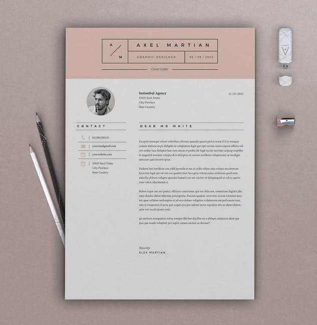 Resume Axel - product preview 1
