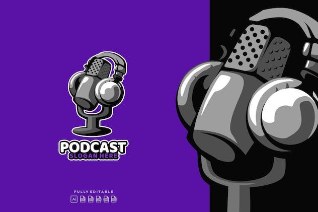 Podcast Audio Logo - product preview 1