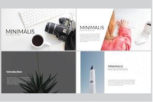 Thumbnail for Minimalis Business | Google Slides
