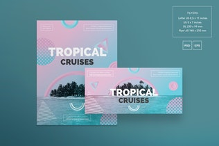 Thumbnail for Travel Agency Flyer and Poster Template