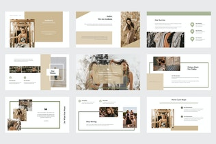 Thumbnail for Ambora - Summer Fashion Google Slides