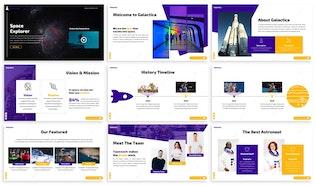 Galatica - Space Google Slides Template